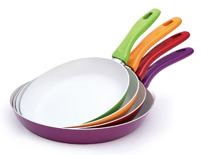 Посуда с керамическим покрытием